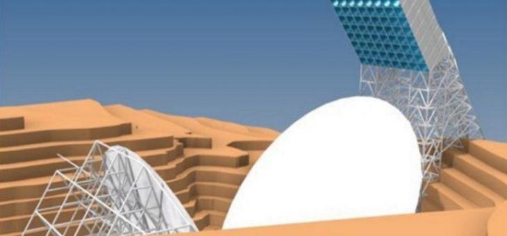UFCG formaliza financiamento para a infraestrutura do radiotelescópio Bingo