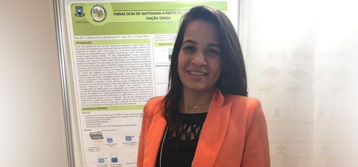 PESQUISADORA DO laboratório CERTBIO (CCT) É PREMIADA EM CONGRESSO