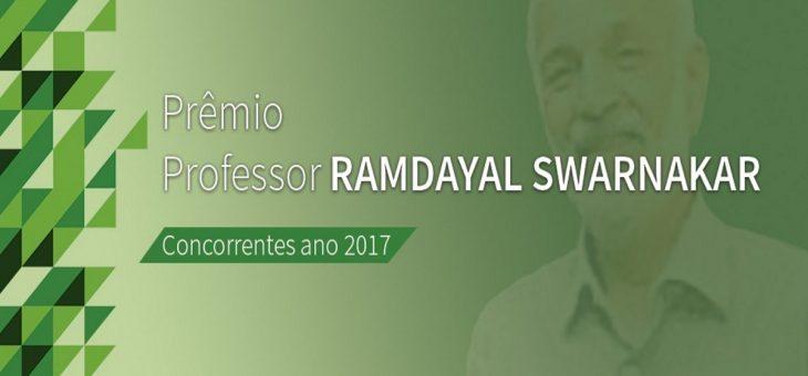 Prêmio professor Ramdayal Swarnakar oferece até R$ 10 mil a pesquisadores da UFCG