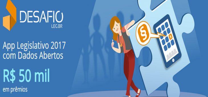 Inscrições para o Desafio App Legislativo 2017 são prorrogadas