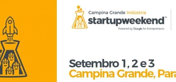 STARTUP WEEKEND CAMPINA GRANDE tem início esta sexta-feira