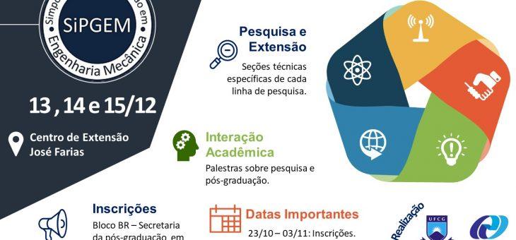 CCT realiza I simpósio de Pós-Graduação em Engenharia Mecânica