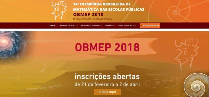 Olimpíada Brasileira de Matemática das Escolas Públicas recebe inscrições até 2 de abril