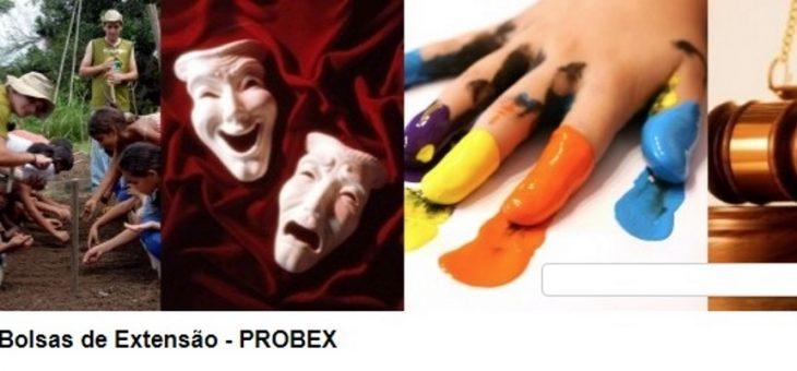 Sai resultado preliminar da seleção de projetos do Probex 2018 da UFCG