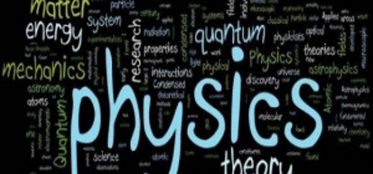 Seminário da Física acontece na UFCG nesta terça-feira