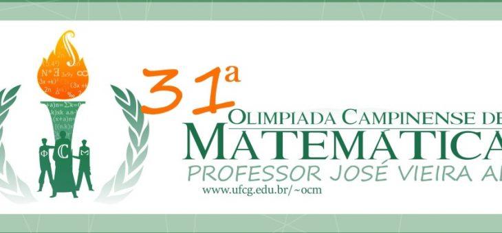 Estão abertas as inscrições para a Olimpíada Campinense de Matemática