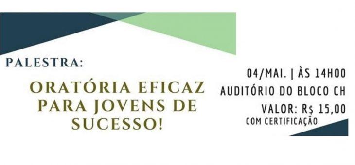Empresa Júnior da UFCG promove palestra sobre oratória e comunicação em público