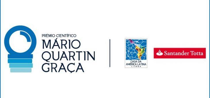 Abertura das candidaturas ao Prêmio Científico Mário Quartin Graça, em Portugal