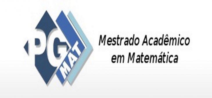 Últimos dias de inscrições para seleção do mestrado em Matemática da UFCG