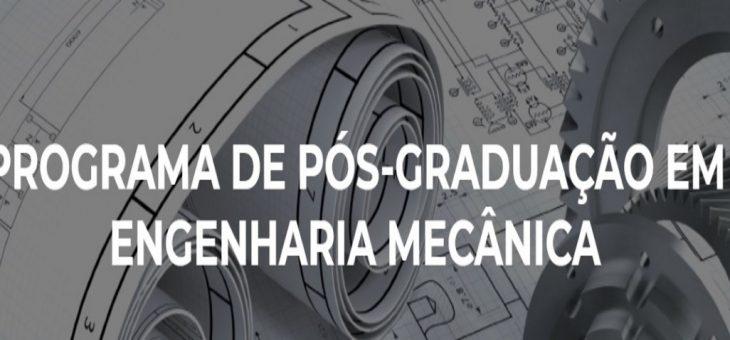 Inscrições abertas para Mestrado em Engenharia Mecânica