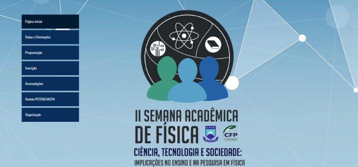 UFCG promove II Semana da Física em Cajazeiras
