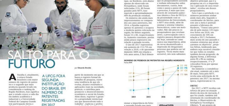 Sétima edição da UFCG Revista destaca a produção científica da universidade