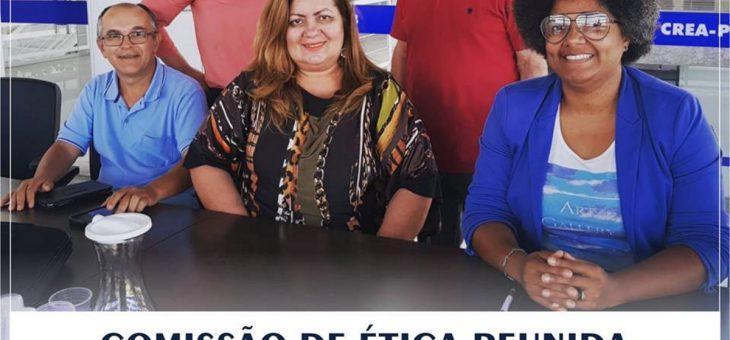 Comissão de Ética do Crea-PB se reúne em Campina Grande