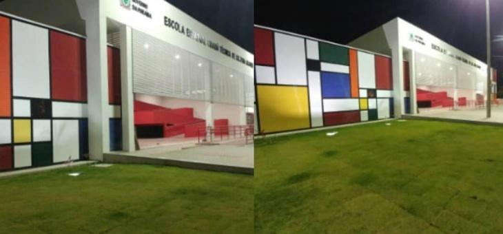 Escola Estadual Professor Bráulio Júnior é inaugurada nesta manhã