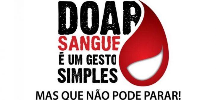 CCT recece Unidade Móvel do Hemocentro em ação para coletas de sangue