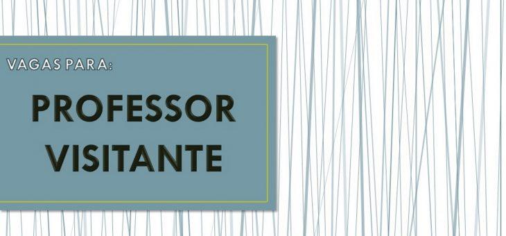 UFCG abre seleção para professor visitante em diversas áreas