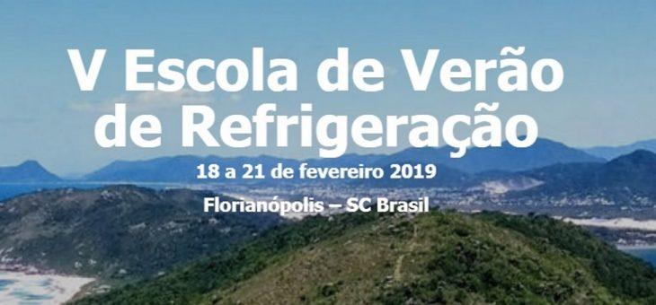 V Escola de Verão de Refrigeração acontece em Florianópolis (SC), em fevereiro
