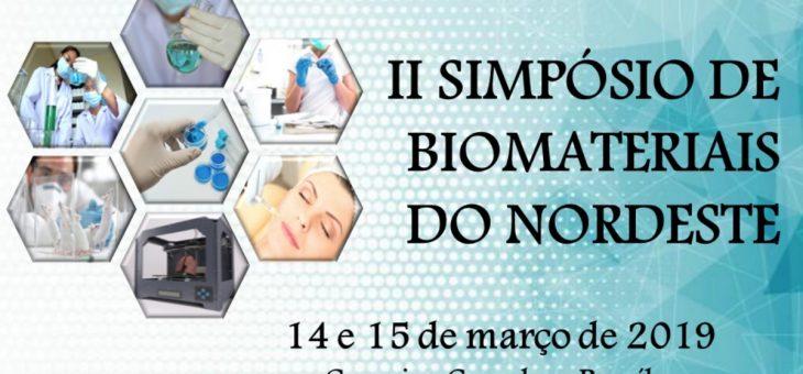 II SIMPÓSIO DE BIOMATERIAIS DO NORDESTE COMEÇA NESTA QUINTA (14/3), NO CERTBIO