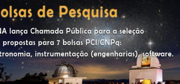 Laboratório Nacional de Astrofísica está com Chamada Pública aberta para seleção de bolsistas