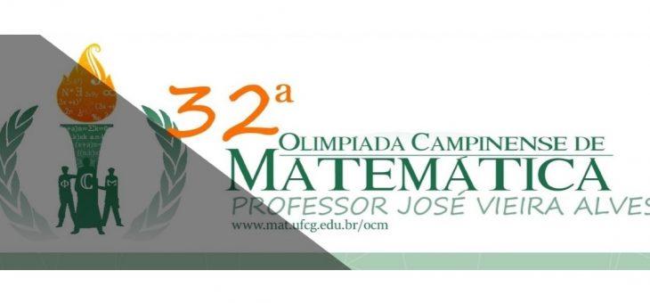 Começam nesta segunda-feira as inscrições para a 32ª Olimpíada Campinense de Matemática